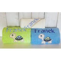 Ręcznik duży z imieniem oraz grafiką